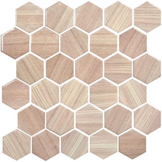 HP 6002 Hexagon мозаїка 295×295 мм, Котто Кераміка