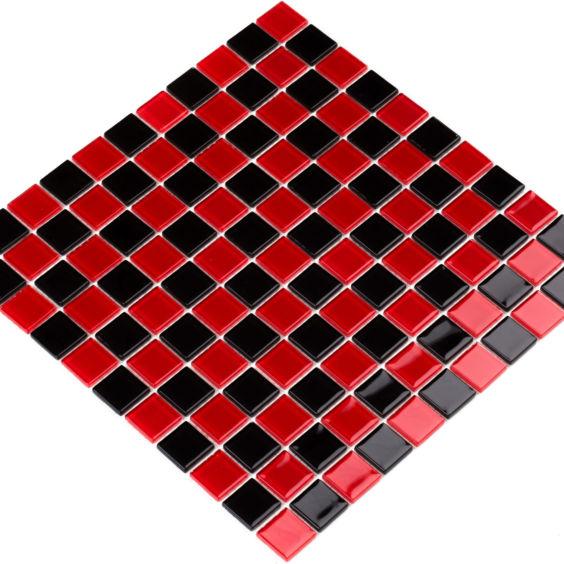 GM 4003 CC Black-Red m мозаїка 300×300 мм, Котто Кераміка