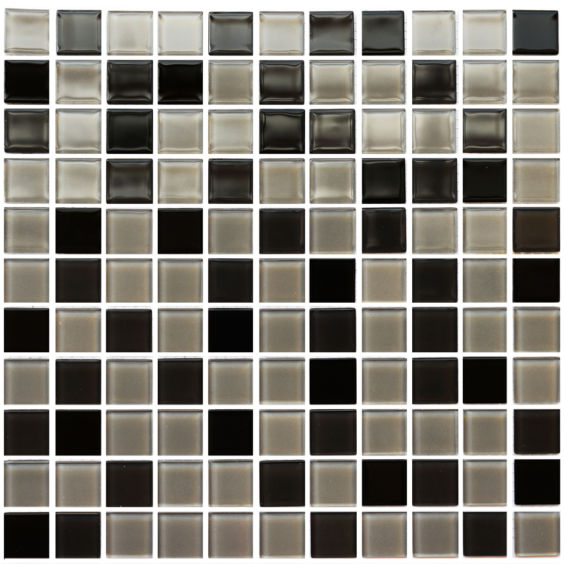 GM 4008 С3 Black-Gray m-Gray w мозаїка 300×300 мм, Котто Кераміка