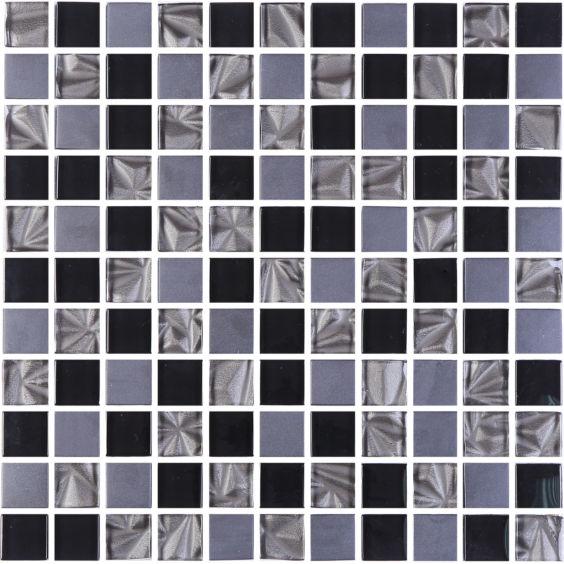 GM 8002 C3 Imperial S4-Ceramik Black-Black мозаїка 300×300 мм, Котто Кераміка