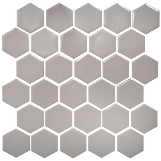 H 6004 Hexagon Rosy Brown мозаїка 295×295 мм, Котто Кераміка