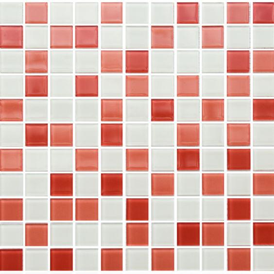 GM 4028 C3 Pink d-Pink w-White мозаїка 300×300 мм, Котто Кераміка