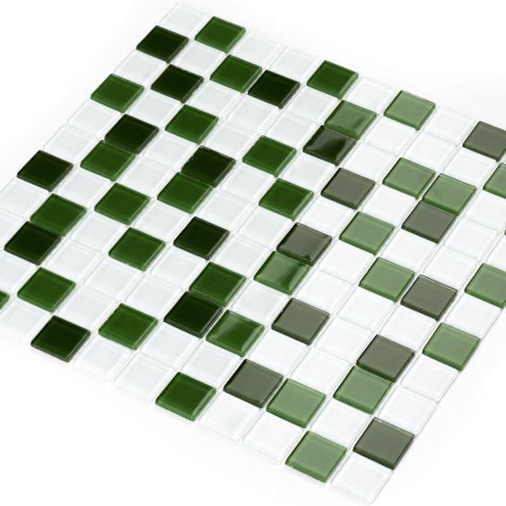 GM 4030 C3 Green d-Green m-White мозаїка 300×300 мм, Котто Кераміка