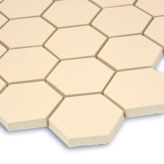 H 6007 Hexagon Bisque мозаїка 295×295 мм, Котто Кераміка