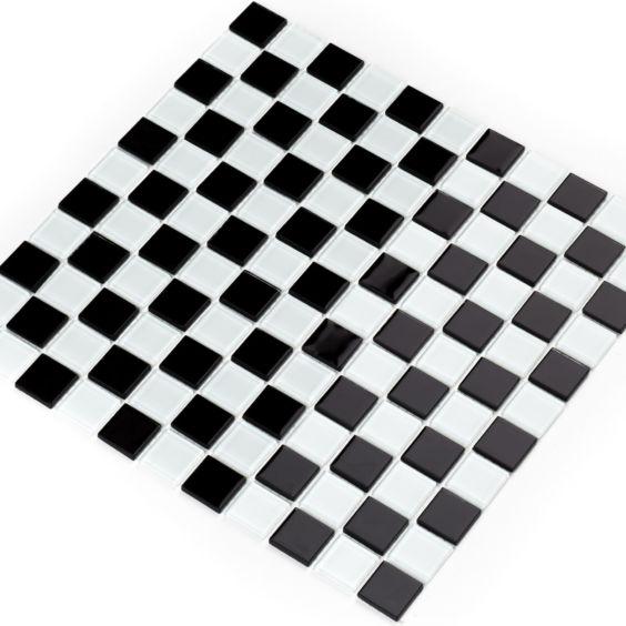 GM 4002 CC Black-White мозаїка 300×300 мм, Котто Кераміка