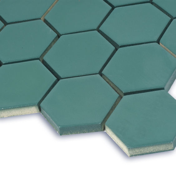 H 6017 Hexagon Aqvamarine мозаїка 295×295 мм, Котто Кераміка