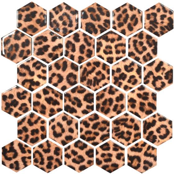 HP 6028 Hexagon мозаїка 295×295 мм, Котто Кераміка