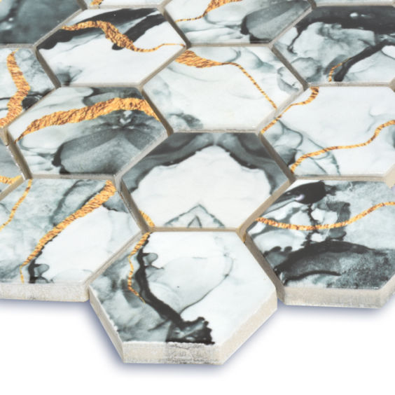 HP 6020 Hexagon мозаїка 295×295 мм, Котто Кераміка