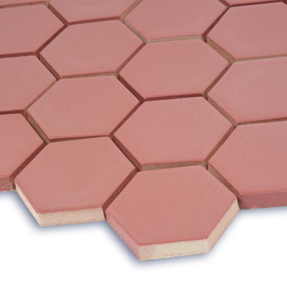 H 6015 Hexagon Coral мозаїка 295×295 мм, Котто Кераміка