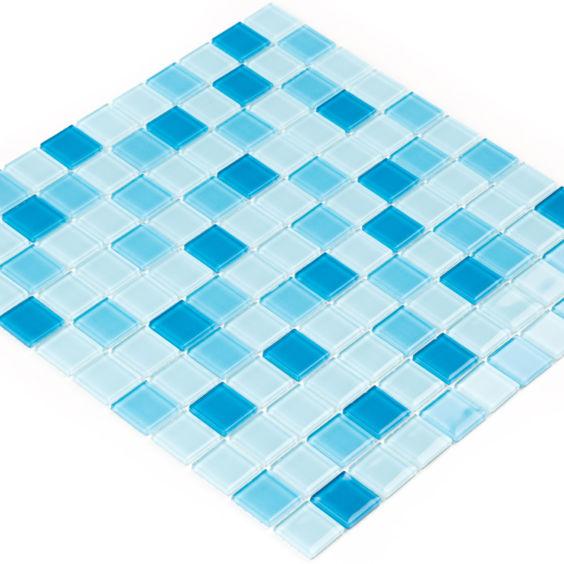 GM 4018 C3 Blue d-Blue m-Blue w мозаїка 300×300 мм, Котто Кераміка