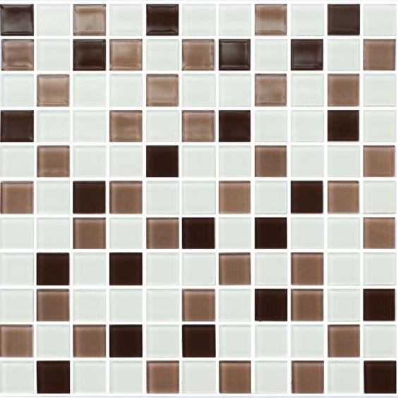 GM 4035 C3 Coffee m-Coffee w-White мозаїка 300×300 мм, Котто Кераміка