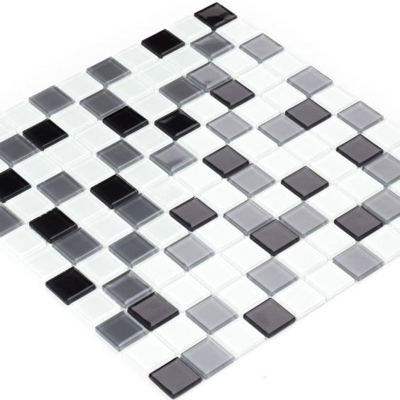 GM 4034 C3 Gray m-Gray w-White мозаїка 300×300 мм, Котто Кераміка