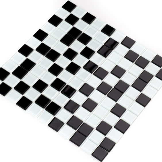 GM 4001 С2 Black-White мозаїка 300×300 мм, Котто Кераміка