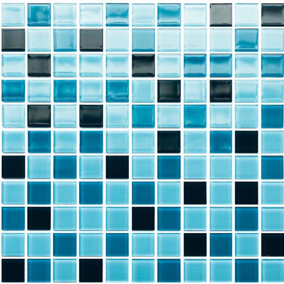 GM 4020 C3 Сerulean d-Сerulean m-Сerulean w мозаїка 300×300 мм, Котто Кераміка