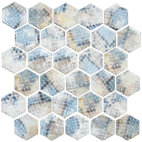 HP 6017 Hexagon мозаїка 295×295 мм, Котто Кераміка