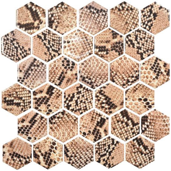 HP 6019 Hexagon мозаїка 295×295 мм, Котто Кераміка